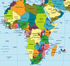 India Map, Country Maps, Africa Map, Baghdad, People Of The World, Congo, Continents, Afghanistan, Kenya