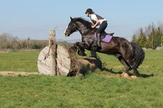 Midnight and Vladdy, cross country jumping. For more information on our horse riding holidays, email coopershilllivery@gmail.com. Like and follow Cooper's Hill Livery on Facebook for regular updates. VIDEO: https://www.youtube.com/watch?v=3r1Da_XquY8