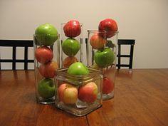 Apples centerpiece
