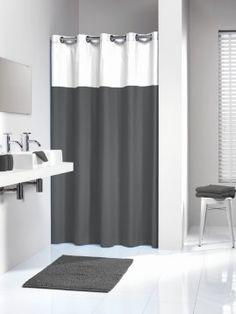Zasłona prysznicowa tekstylna Double Sealskin