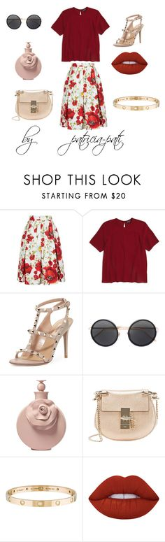 """""""Untitled #92"""" by patricia-pati ❤ liked on Polyvore featuring interior, interiors, interior design, home, home decor, interior decorating, Dolce&Gabbana, Topshop, Valentino and Linda Farrow"""