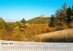 Fotokalender Thüringer Landschaften 2016, Oktober