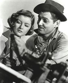 Myrna Loy and Clark Gable made seven films: Wife vs. Secretary, Parnell, Test Pilot, Too Hot to Handle, Night Flight, Men in White. Both actors were selected by a poll by the Chicago Daily Tribune as the King and Queen of Hollywood, an award presented by Ed Sullivan on December 10, 1937.