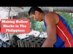 Amazing Concrete Block Machine How to Make hollow blocks - YouTube Construction Business, Concrete Blocks, Making Machine, Good Job, Philippines, Tank Man, Amazing, Youtube, How To Make