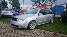 Fabia combi Skoda Fabia, Station Wagon, Custom Cars, Volkswagen, Wheels, Sport, Awesome, Vintage, Cars