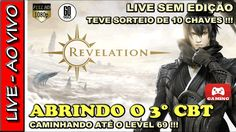🔴 REVELATION ONLINE NO 3° CBT COM SORTEIO DE 10 CHAVES ★ VENHA JOGAR !