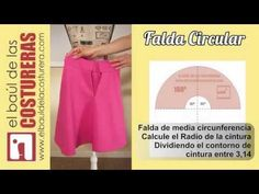 Cómo coser un ruedo curvo, con acabado profesional Youtube, Circle Skirts, Google, Fashion, Simple Gowns, Modeling, Shape, Layered Skirt, Full Circle Skirts