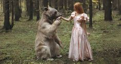 Sorprendentes+retratos+surrealistas+con+animales+silvestres+por+Katerina+Plotnikova