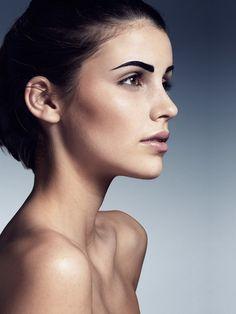 Natural Make-up: Melanie Volkart Photographer: Charles-Elis Lathion  Model: Lisa-Rebeca