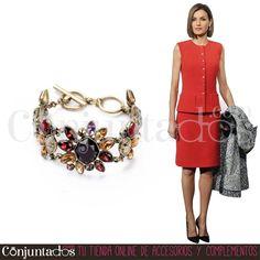 La pulsera Amber queda igual de bien de día y de noche ★ 13,95 € en https://www.conjuntados.com/es/pulseras/pulsera-amber-con-cristales-de-colores.html ★ #novedades #pulseras #bracelets #joyitas #jewelry #bisutería #bijoux #accesorios #complementos #moda #fashion #estilo #style #GustosParaTodas #ParaTodosLosGustos