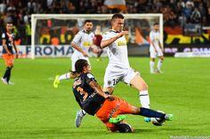 Pierrick Capelle / Daniel Congre - 08.08.2015 - Montpellier / Angers - 1ère journée de Ligue 1