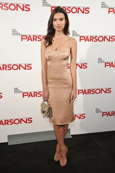 Emily Ratajkowski at the 67th Annual Parsons Fashion Benefit | Harper's Bazaar