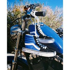 Biker Blues.  Photo by @adri_law #vansgirls
