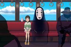 Spirited Away by Hayao Miyazaki, 2001 was the first Japanese anime film to win an Academy Award. #Film #Anime #Spirite_Awat #Hayao_Miyazaki