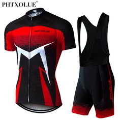 Phtxolue 2018 Summer Short Sleeve Men Cycling Clothing Breathable Bike  Jerseys Set Mountain Bicycle Wear Maillot Ropa Ciclismo. Yesterday s price   US  52.69 ... 3b0a847b7