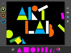 The MoMA Art Lab app I Activities inspired by modern and contemporary artists like Matisse :)