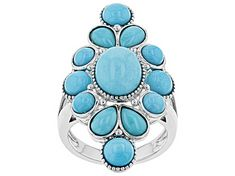 Meet your new favorite Pre-Owned Blue Sleeping Beauty Turquoise Sterling Silver Ring! JTV offers exceptional quality and value with this piece. Kingman Turquoise, Turquoise Gemstone, Turquoise Jewelry, Sleeping Beauty Turquoise, Broken Chain, Blue Gemstones, Jewelry Sets, Sterling Silver Rings, Jewelry Collection