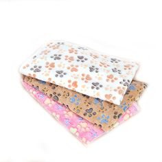 Cute Paw Soft Warm Fleece Dog Blanket Car Seat Cover Pet Cat Dog Small Big Dog Blanket Bed House Mat Cushion ** Find out more about the great product at the image link. (This is an affiliate link and I receive a commission for the sales)