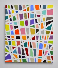 Sydney artist Kyle Jenkins - Urban Geometry series