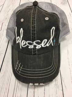 Blessed Baseball Cap - Cross