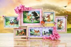 Create your own Disney themed cards and crafts, including princesses and villains using stamps, dies and paper pads from the papercrafting range at Create and Craft. Disney Cards, Disney Diy, Walt Disney, Arts And Crafts, Diy Crafts, Brother Scan And Cut, Create And Craft, Disney Pictures, Bambi