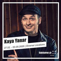 Kaya Yanar ist zurück! 2020 kannst du deinen Lieblingscomedian mit seinem neuen Programm Ausrasten für Anfänger in Interlaken Luzern Winterthur und vielen weiteren Schweizer Städten live erleben.  Alle Daten und Tickets: www.ticketcorner.ch #ticketcornermoments #kayayanar #onsalenow #ticketcorner Winterthur, Kaya Yanar, Insight, Comedy, Shit Happens, Instagram, Live, Highlight, Lucerne