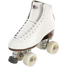 Riedell Raven Artistic Roller Skates White Size 75 Medium ** Find out more about the great product at the image link. (This is an affiliate link)