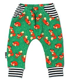 Look what I found on #zulily! Green Riley Organic Harem Pants - Infant & Toddler #zulilyfinds