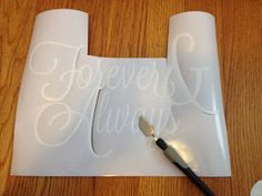 Silhouette School: Cutting Vinyl with Silhouette 101 and Using Transfer Paper