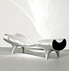 Marc Newson Ltd | Orgone Stretch Lounge | 1993 | www.marc-newson.com/