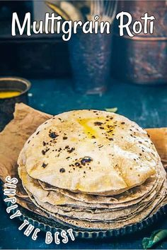 Indian Food Recipes, Asian Recipes, Ethnic Recipes, Roti Recipe, Multigrain, Indian Curry, Middle Eastern Recipes, American Food, Okra
