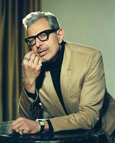 Jeff Goldblum knows a thing or two about the finer things. And while you may exp… Jeff Goldblum knows a thing or two about the finer things. And while you may expect his choice of watch to be pricey, what he really wears may surprise you. Cool Glasses, Mens Glasses, Sport Watches, Watches For Men, Rolex, Cartier Tank, Thing 1, Grown Man, Stylish Men