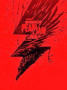 2013 PEARL JAM PHOENIX 11/19 POSTER