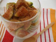 As Minhas Receitas: Iogurte Grego com Figos e Canela