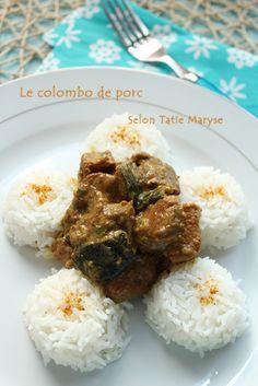 Connaissez-vous le colombo de porc!? C'est une autre spécialité de colombo vraiment savoureuse dont Tatie Maryse vous dévoile sa recette!