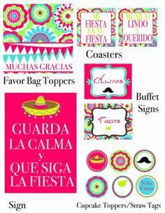 Cinco de Mayo - Lots & lots of free printables