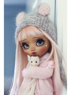Welcome to Poison Girl's Dolls! I'm María and customizing dolls is my passion. Pullip & Blythe custom dolls for sale in my shop. Blythe Dolls, Girl Dolls, Doll Home, Dolls For Sale, Custom Dolls, Girly, Disney Princess, Disney Characters, Cute