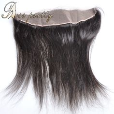 7A Unprocessed Virgin Brazilian Hair Lace Frontal Closure Human Hair Virgin Lace Frontal Straight Hair 13x4 Ear To Ear Closure