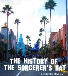 History of Disney Hollywood Studios Sorcerer's Hat - #DisneyWorld #History