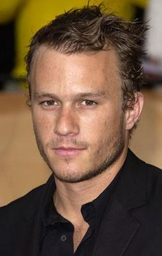 Heath Ledger, such a pity he dead so young. He was a great actor and I would've loved to see more movies with him.