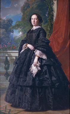de Madrazo, Federico - Retrat de Carlota Quintana Badia. 1869 | by ros_with_a_prince