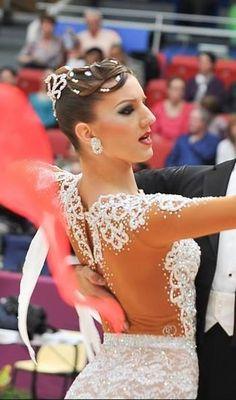 dance sport hair