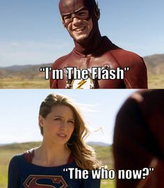 I'm the Flash