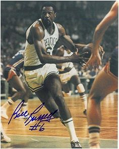 Signed Russell Photograph - Boston Celtics 8x10 - Autographed NBA Photos ** Check out this great product.