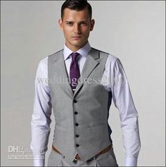 silver and purple tux | Hot Selling Customed Silver Mens Suit Bridal Groom Suits/Tuxedo Jacket ...