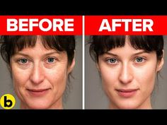 how to look your skin younger naturally without makeup - secret to look younger Here's the simple secret on how to look much younger. Younger Looking Skin, Look Younger, Get Healthy, Healthy Skin, Banana Face Mask, Homemade Moisturizer, Facial Exercises, Aging Process, Foods To Avoid