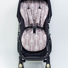 Grey Arrows Pram Liner & Harness Covers