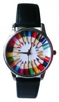 totally if I were an art teacher! Art Teacher Outfits, Teacher Clothes, Jewelry Accessories, Jewelry Design, Gifts For An Artist, Beautiful Watches, Cool Watches, Fashion Watches, Jewelry Watches