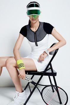 Calgary Avansino: Tennis Wear By Oakley, Sweaty Betty, Monreal (Vogue.com UK)