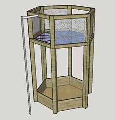Fabrication d'un nid d'aigle pour que les enfants s'amusent dans le jardin ! Table, Furniture, Home Decor, Backyard Games, Children Garden, Decoration Home, Room Decor, Tables, Home Furnishings